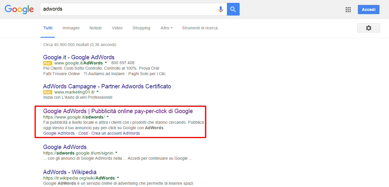 adwords   Cerca con Google